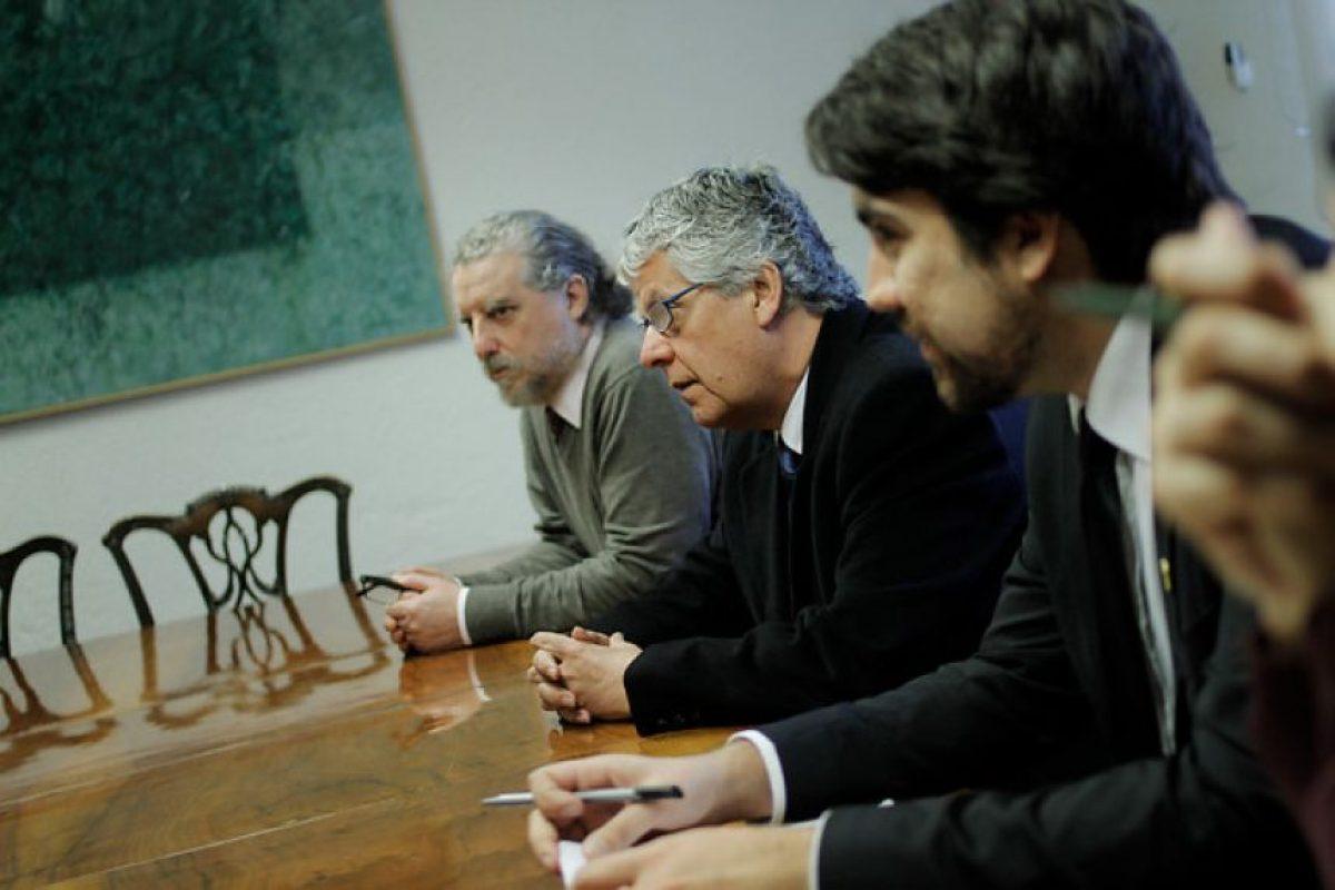 Drigentes de la Organización de Federaciones de Educación Superior Privada (OFESUP) en reunión con el Mineduc Foto:Archivo/ Agencia Uno. Imagen Por: