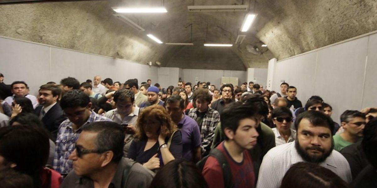 Fotos: Nueva falla en el Metro genera caos en Línea 4
