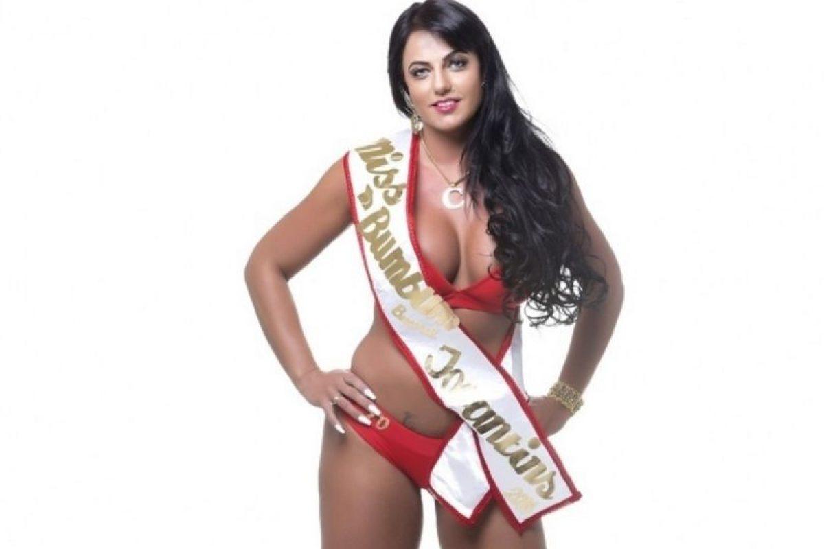 Es acusada de hackear el sistema para obtener más votos Foto:Missbumbumbrasil.com.br. Imagen Por: