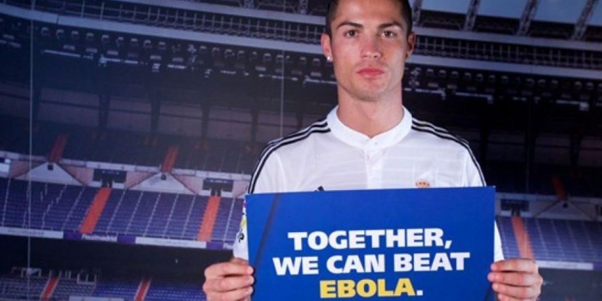 Cristiano Ronaldo, Neymar y otros futbolistas se unen contra el Ébola