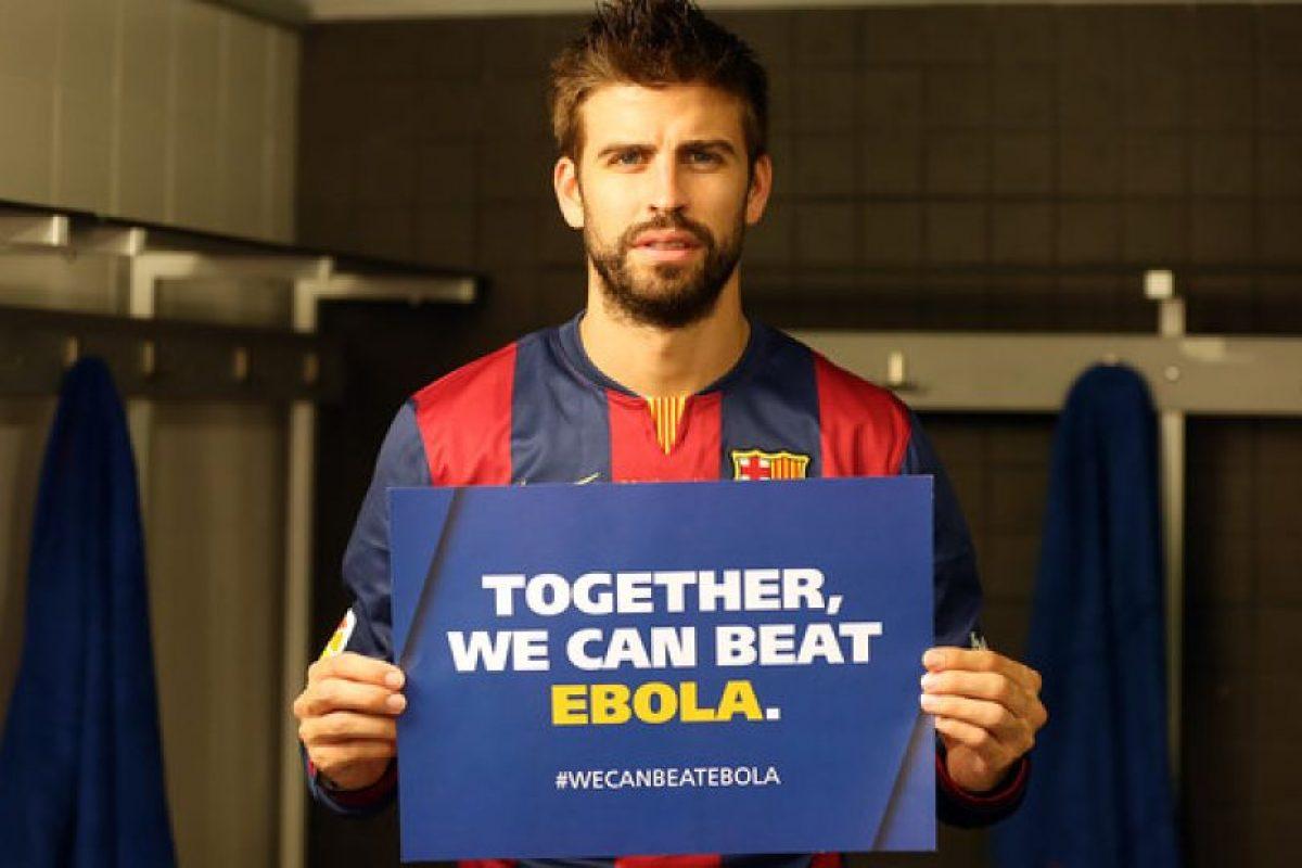 Gerrard Piqué, futbolista español del Barcelona. Foto:FC Barcelona. Imagen Por: