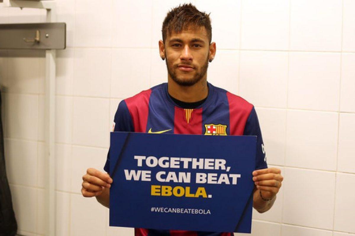 Neymar, futbolista brasileño del Barcelona. Foto:FC Barcelona. Imagen Por: