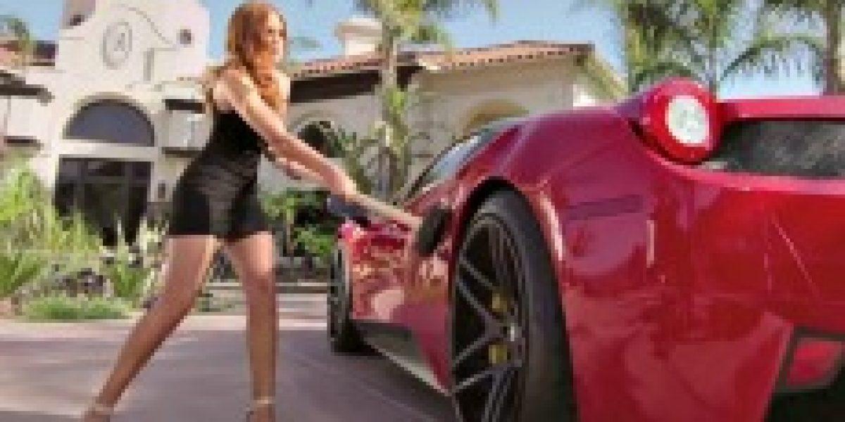 IMÁGENES:Esto le puede pasar a tu auto si te descubre con otra