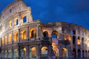 13. En el Coliseo de Roma. Foto:Getty Images. Imagen Por: