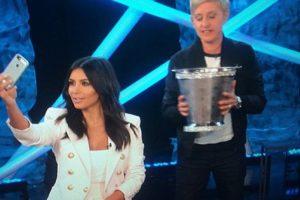 Que Ellen De Generes se encargue de tu #IceBucketChallenge Foto:Instagram/Kim Kardashian. Imagen Por: