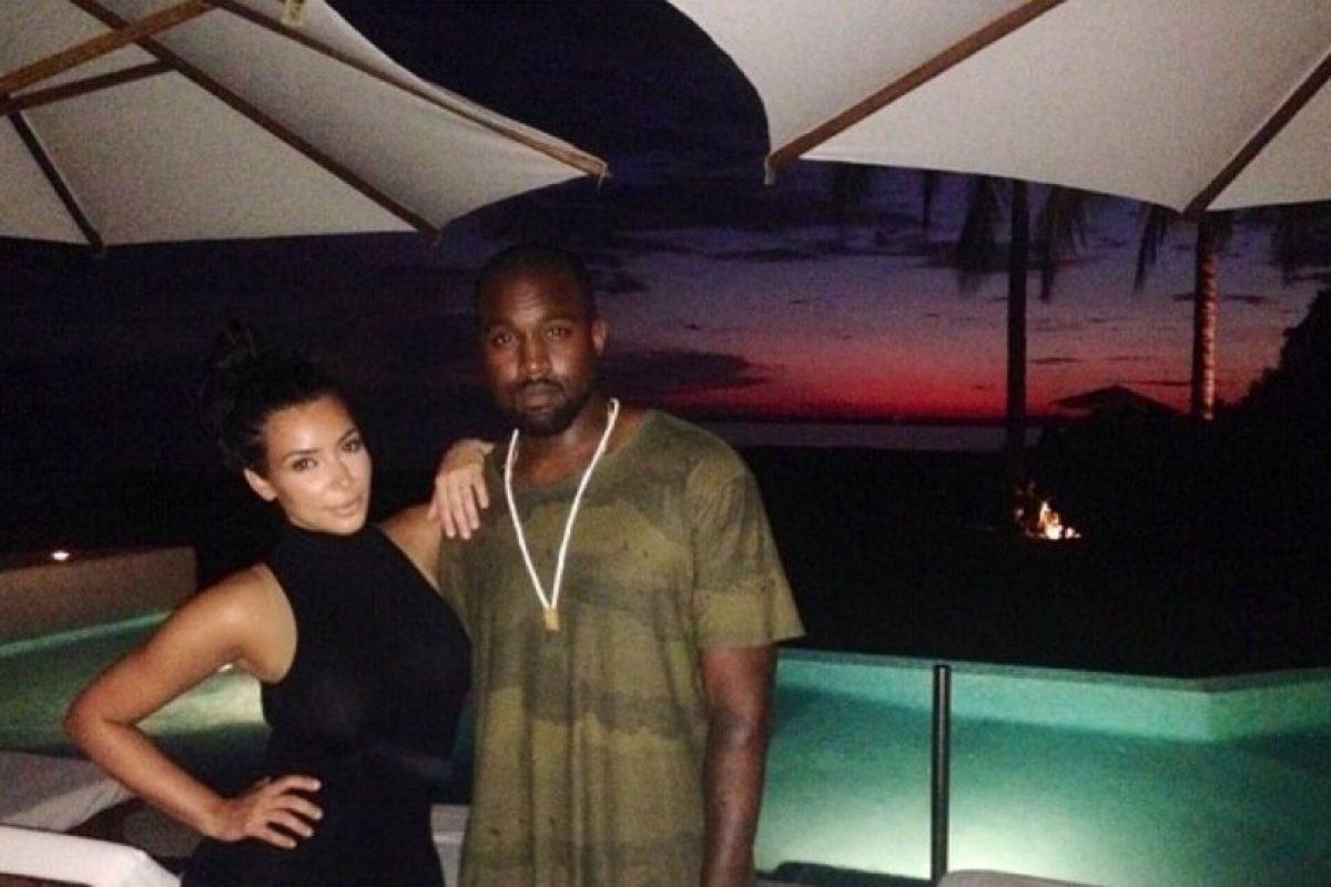Con el amor de tu vida en un hotel mexicano. Foto:Instagram/Kim Kardashian. Imagen Por: