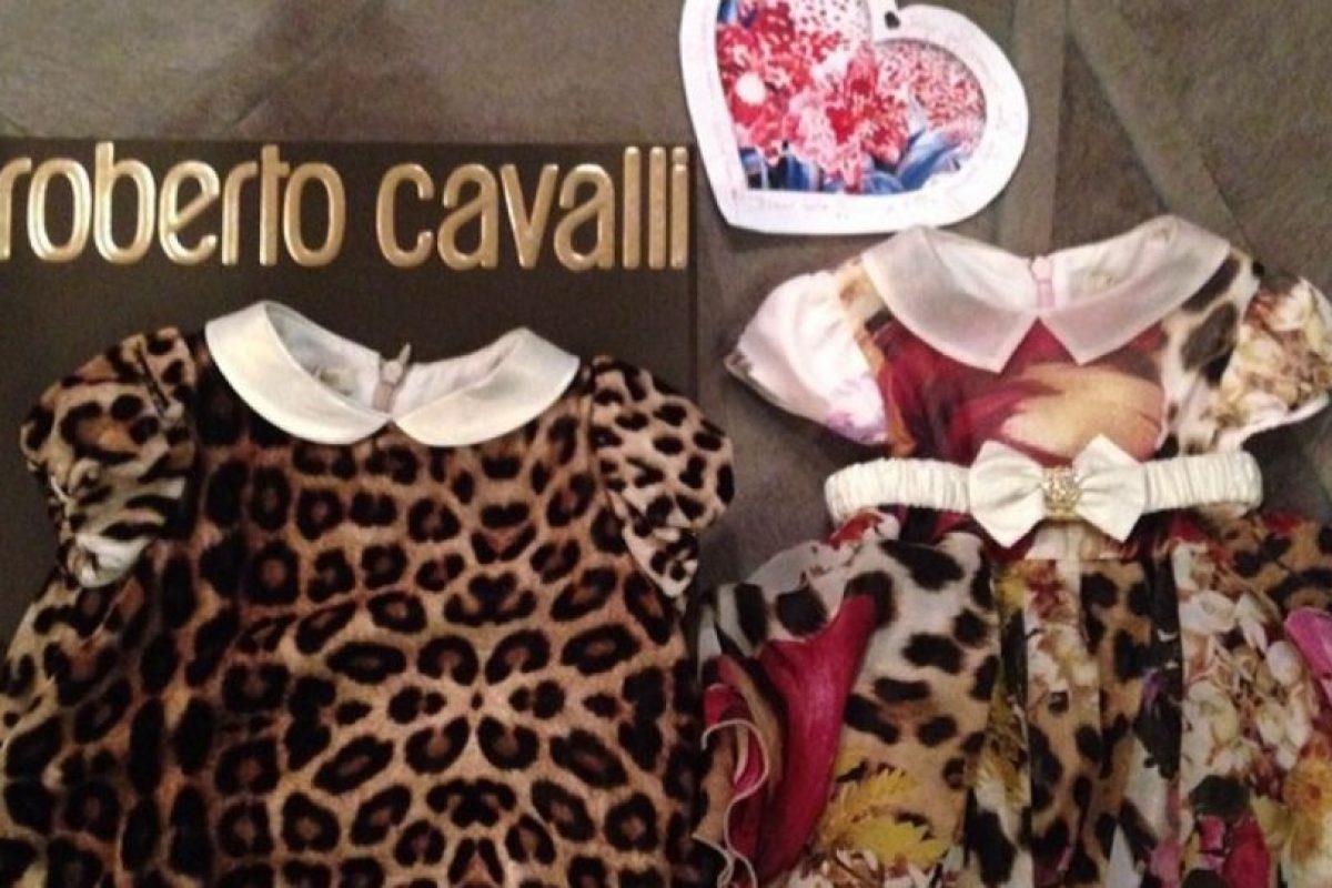 Que Roberto Cavalli le regale ropa a North Foto:Instagram/Kim Kardashian. Imagen Por: