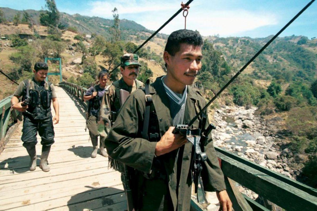 La FARC uno de los grupos guerrilleros más temidos. Foto:Getty. Imagen Por: