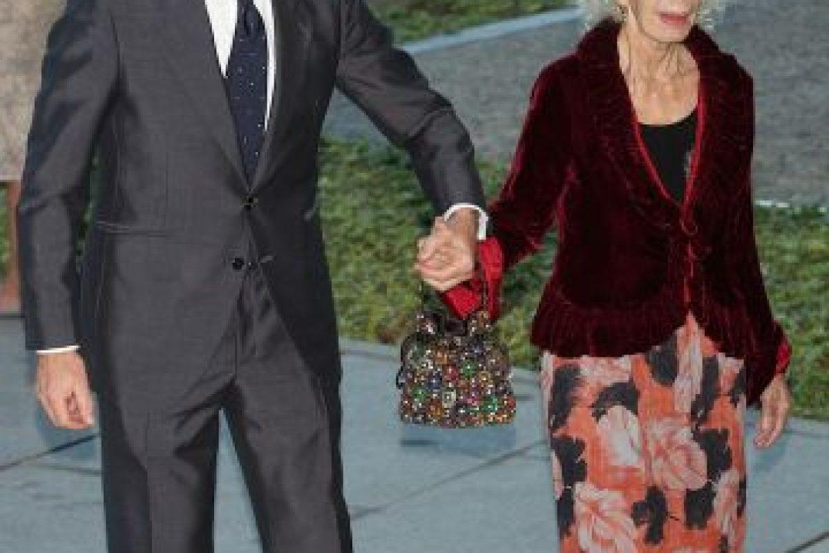 La duquesa contrajo matrimonio por tercera vez en su vida a los 85 años. Foto:Getty. Imagen Por:
