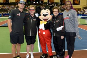 Andy Roddick, Elton John, Billie Jean King y Venus Williams Foto:Getty Images. Imagen Por: