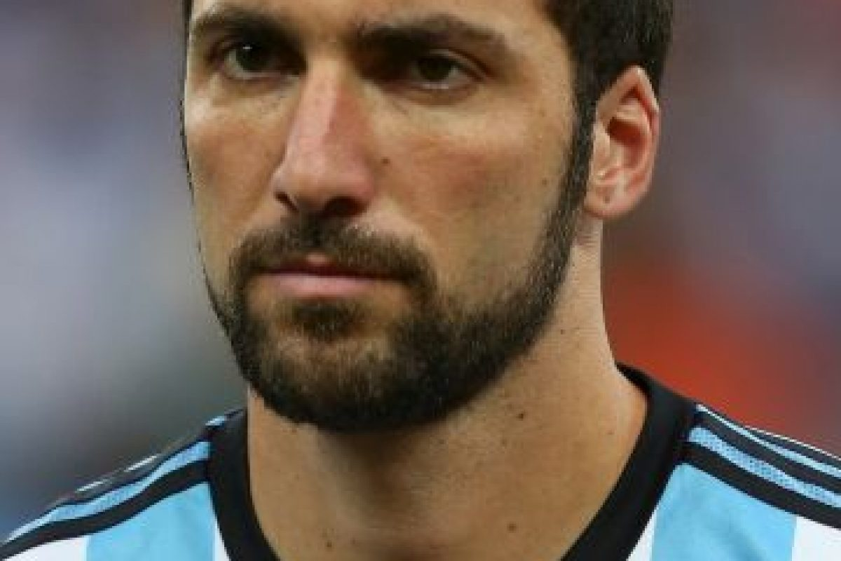 Gonzalo Higuaín (Argentina) Foto:Getty Images. Imagen Por: