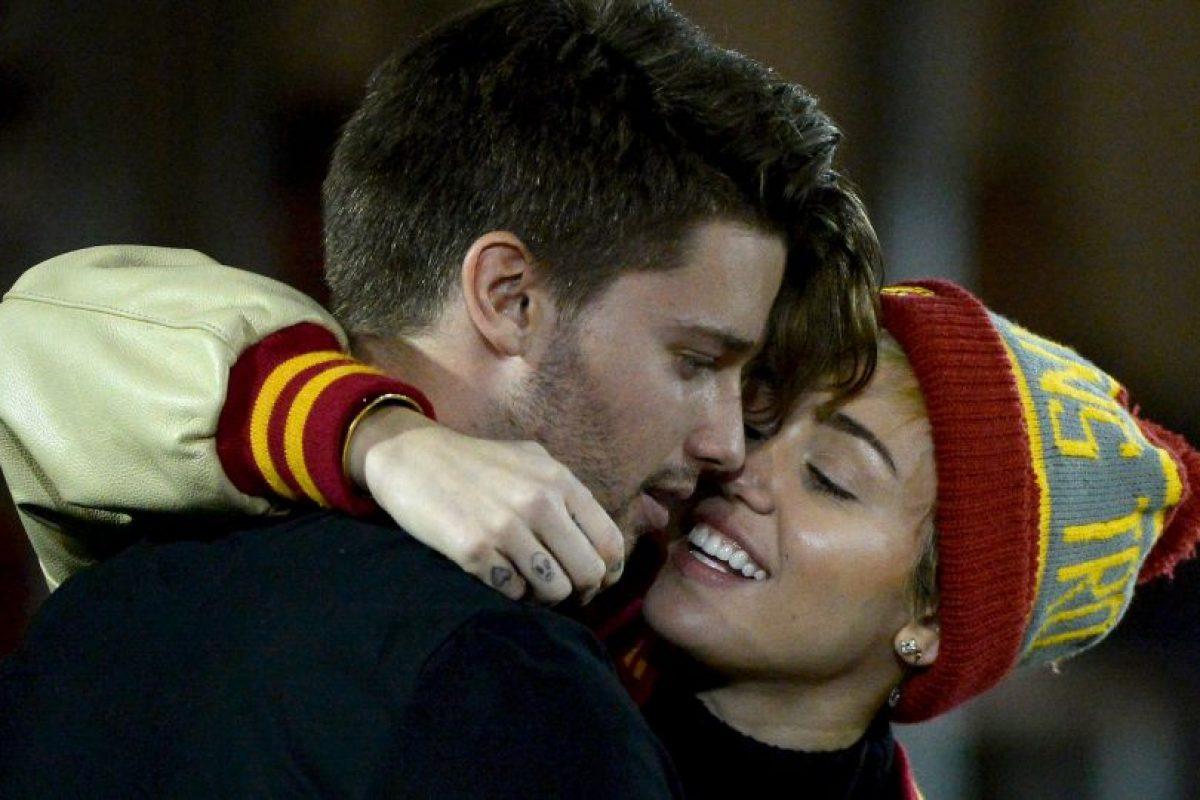 Patrick Schwarzenegger y Miley Cyrus Foto:Getty Images. Imagen Por: