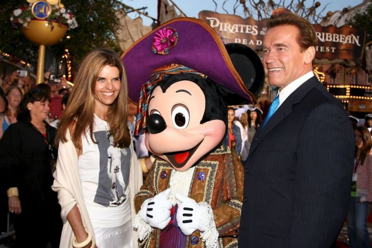 Maria Chriver y Arnold Schwarzenegger Foto:Getty Images. Imagen Por: