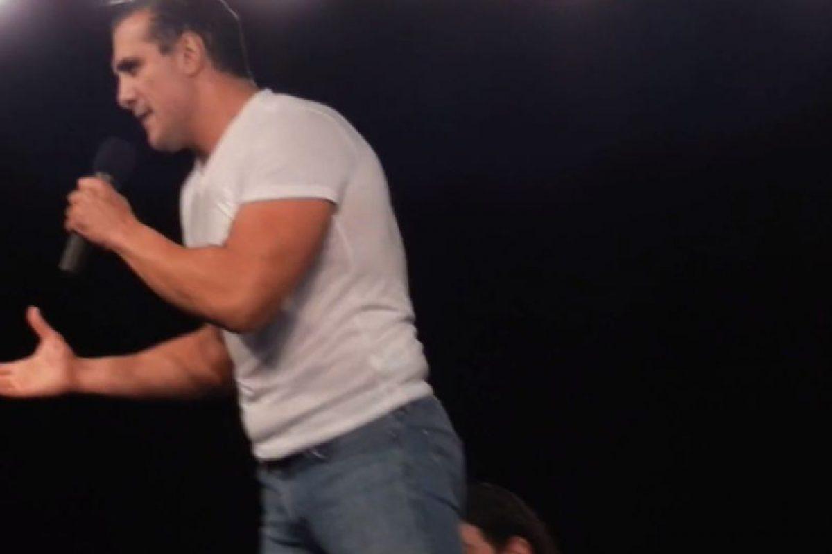 Dejó entrever que pelearía en otra función Foto:Youtube: NoMatch4Me. Imagen Por: