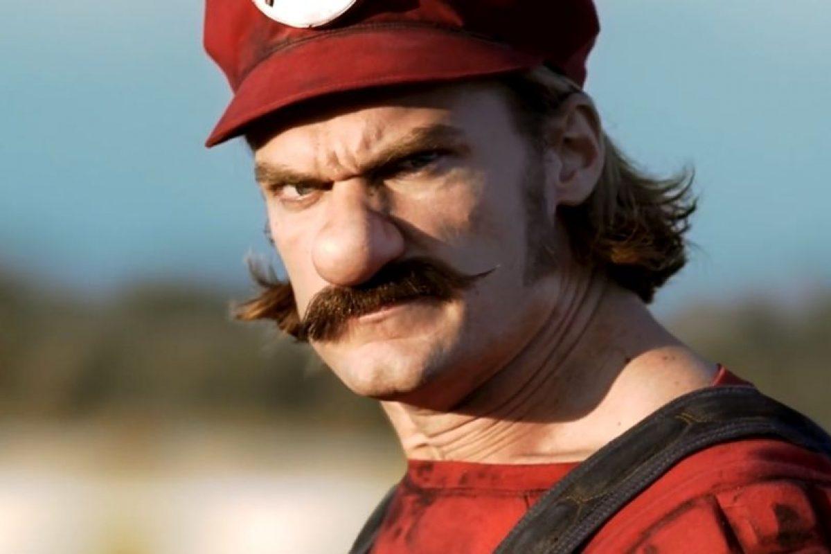 Así sería Mario en la vida real. Foto:Mercedes-BenzTV. Imagen Por: