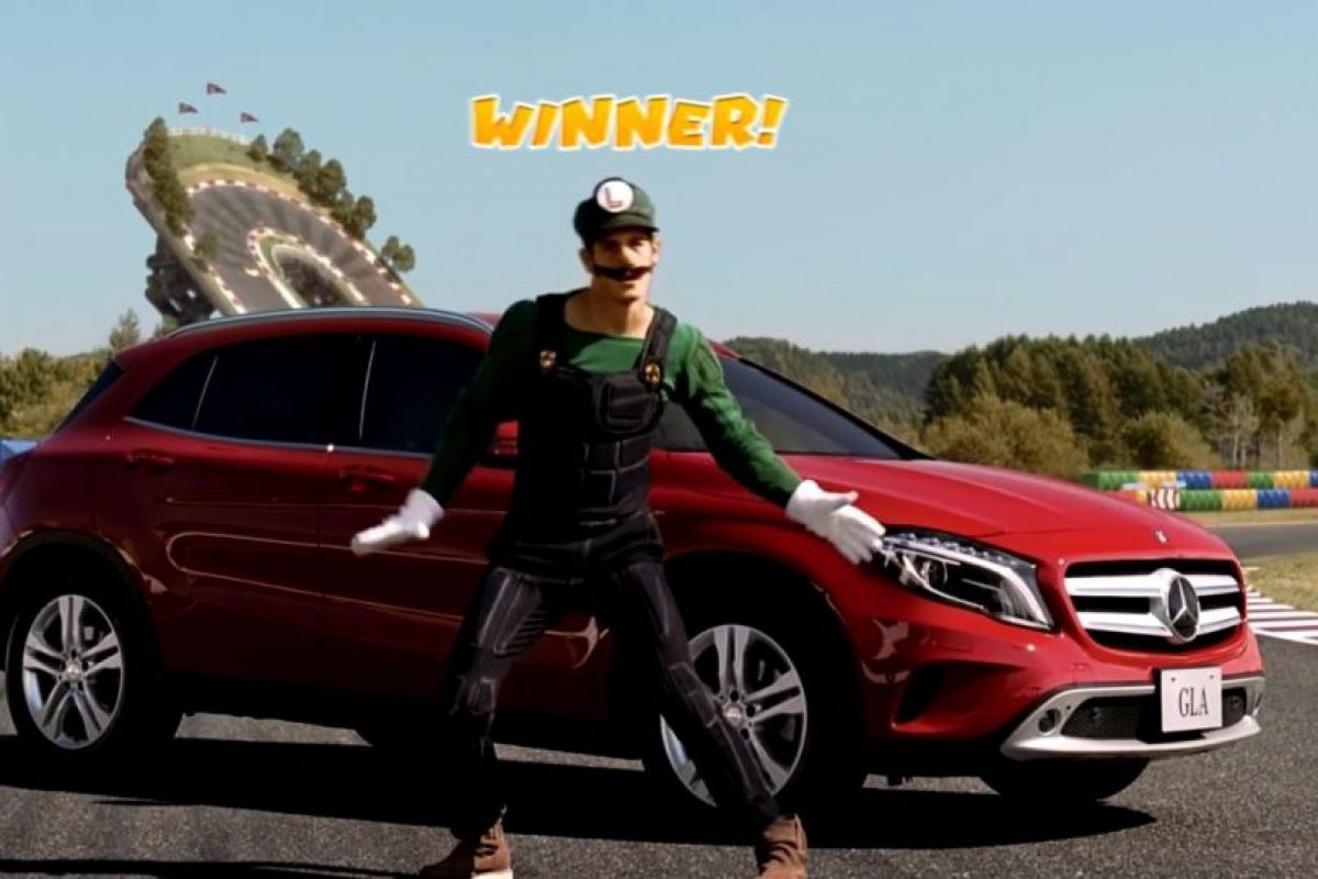 Así sería Luigi en la vida real. Foto:Mercedes-BenzTV. Imagen Por: