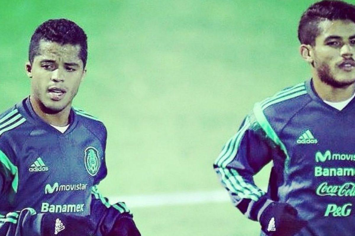 Los hermanos Dos Santos comenzarán el partido. Foto:instagram.com/oficialgio. Imagen Por: