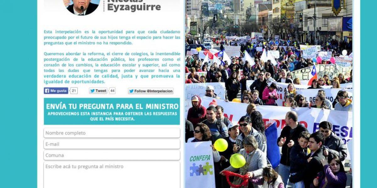 La UDI y RN habilitaron una plataforma web para reunir preguntas ad portas de la interpelación al Ministro de Educación