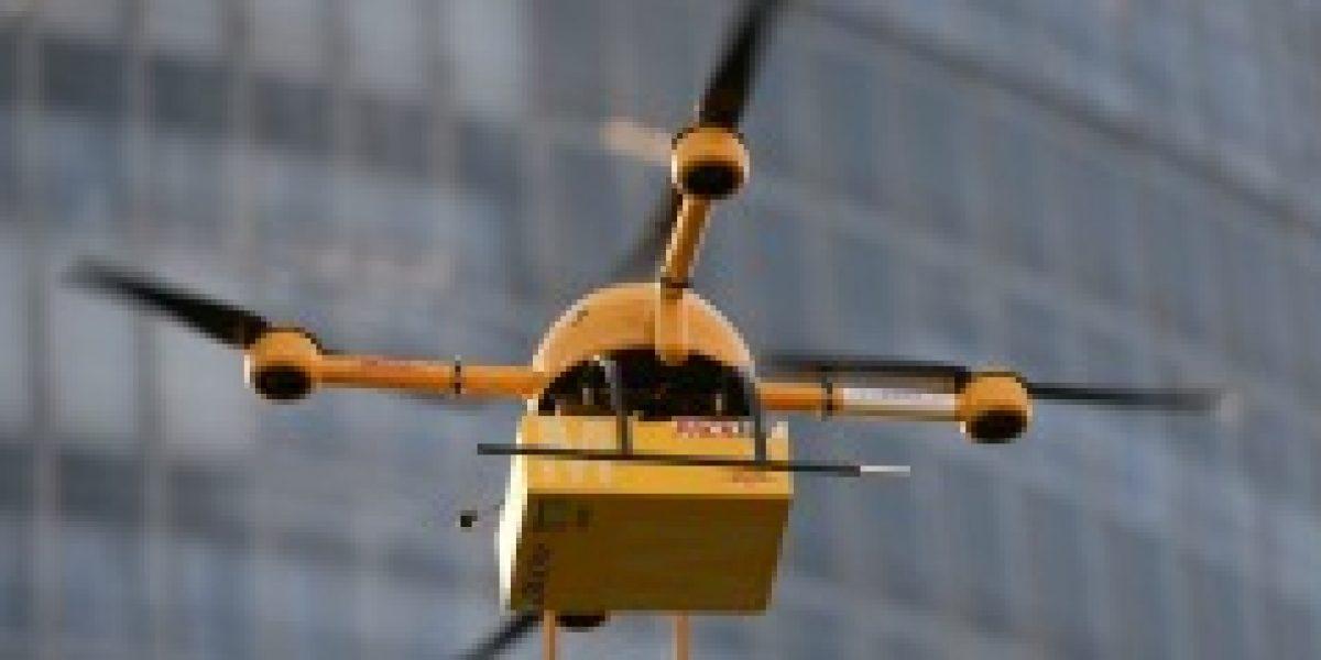 Empresa de correos alemana prueba con éxito la entrega de paquetes con drones
