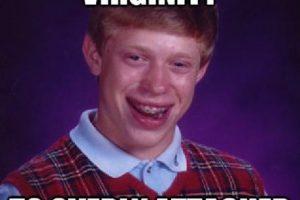 """""""Bad Luck Brian"""" es un tipo con muy mala suerte, según su meme Foto:Cheezburger. Imagen Por:"""