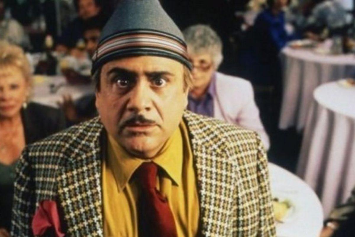 "Danny DeVito era ""Harry Wormwood"", padre de Matilda Foto:TriStar. Imagen Por:"