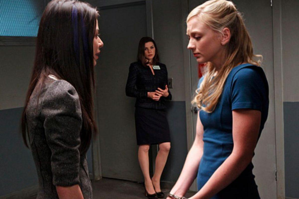 """Antes de dar vida a Beth, Emily Kinney apareció en """"The Good Wife""""como la hermana de una famosa estrella del pop acusada por intento de asesinato Foto:CBS. Imagen Por:"""