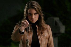 """Lauren Cohan dio vida a la sexy Bela Talbot en """"Supernatural"""".También tuvo un pequeño papelen """"The Vampire Diaries"""" Foto:CW Network. Imagen Por:"""