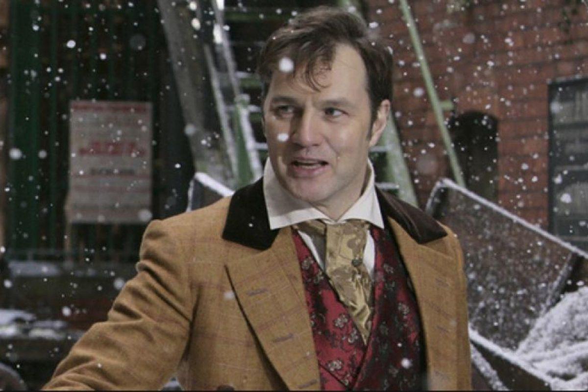 """Antes de dar vida a uno de los villanos más destacados de la serie, David Morrisey dio vida a Jackson Lake en el """"Doctor Who"""" Foto:BBC. Imagen Por:"""