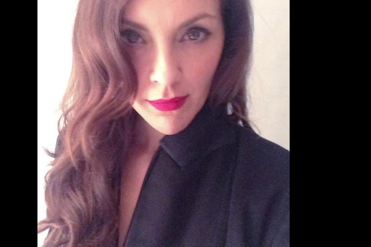 Es actriz. Foto:Twitter/Carolina Gómez. Imagen Por: