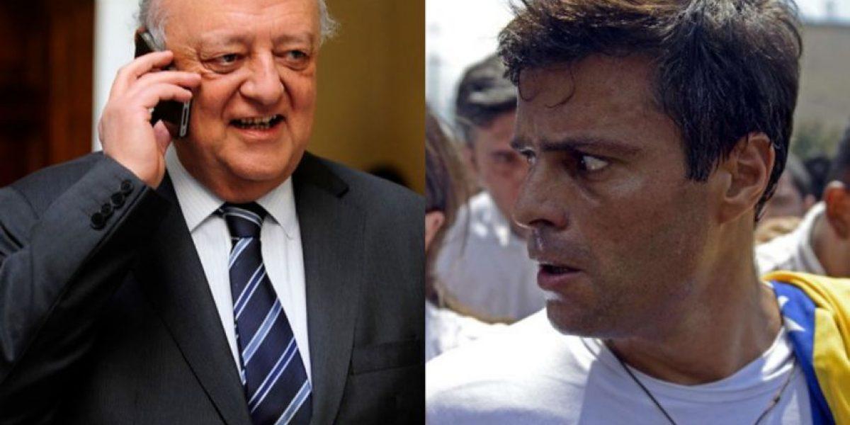 Venezuela: Impidieron a delegación chilena encabezada por Viera Gallo visitar a Leopoldo López