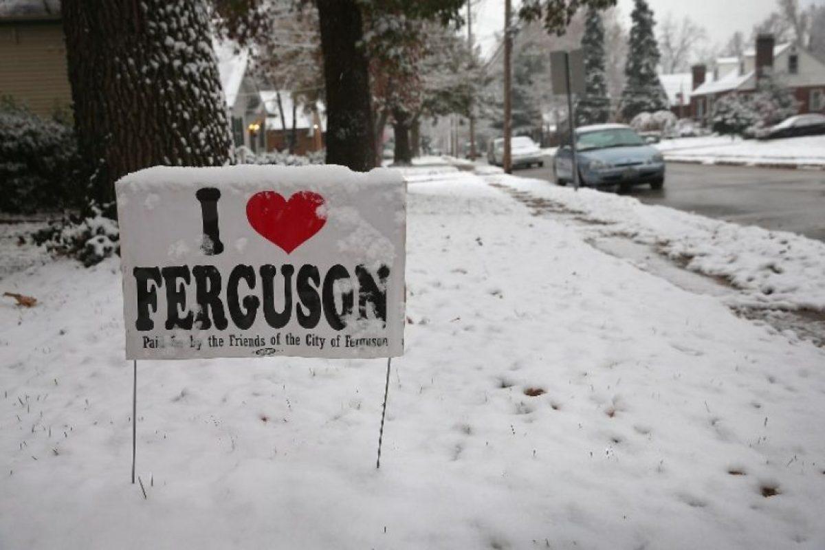 Ferguson, en Misuri. Sitio donde fue asesinado el joven Michael Brown, también sufrió este fenómeno Foto:AFP. Imagen Por: