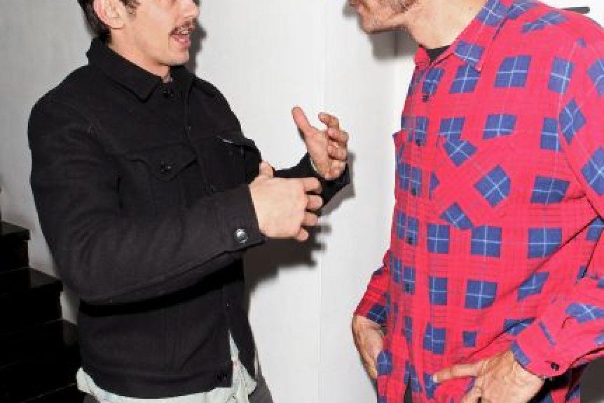 Junto al actor James Franco Foto:Getty Images. Imagen Por: