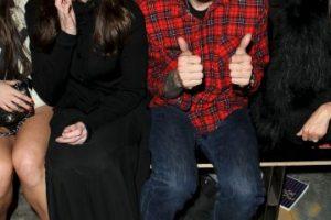 Junto a la actriz Liv Tyler Foto:Getty Images. Imagen Por: