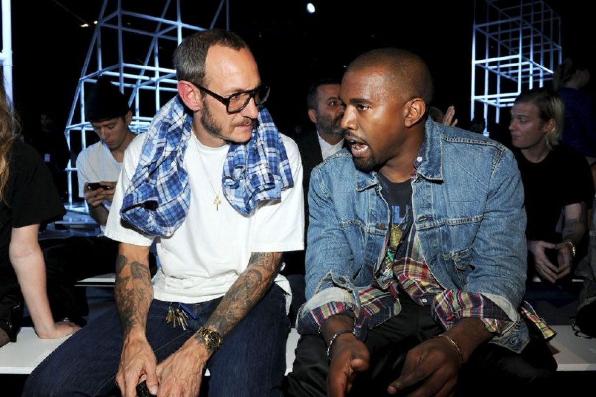 Junto a Kanye West Foto:Getty Images. Imagen Por: