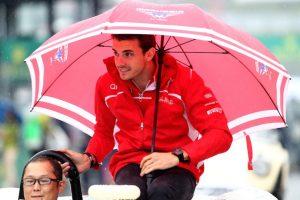 El piloto francés Jules Bianchi sufrió un aparatoso accidente en el Gran Premio de Japón. Foto:Getty Images. Imagen Por: