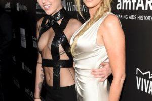 Miley junto a su madre Foto:Getty Images. Imagen Por:
