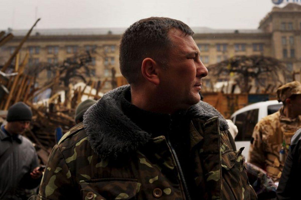 La guerra civil en el este de Ucrania ha dejado cientos de muertos. Foto:Getty Images. Imagen Por: