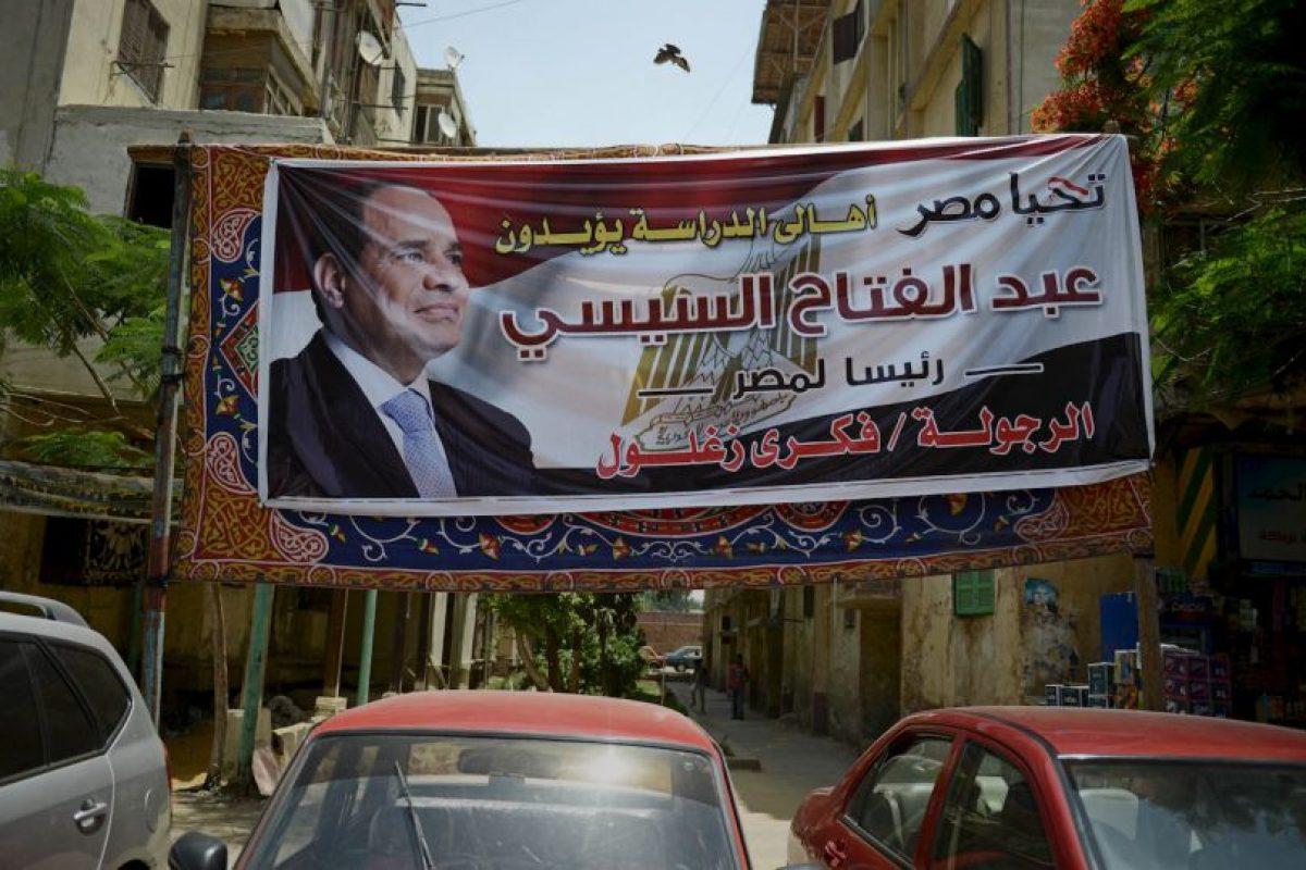 Ahora ex jefe militar, Abdel Fatah Al Sisi, gobierna Egipto. Foto:Getty Images. Imagen Por: