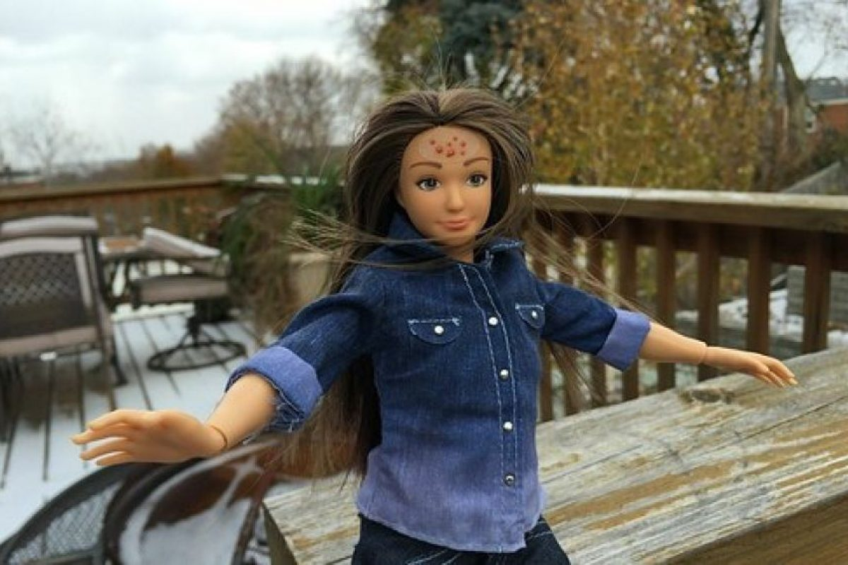 Nikolay Lamm fue la persona que se hizo célebre este año por crear la Barbie con medidas reales. Foto:Lammily. Imagen Por: