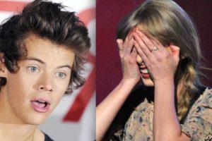"""En 2012, cuando la cantante comenzó su relación con Harry Styles, las redes sociales de Taylor se llenaron de amenazas como esta: """"Eres una pu** zor**. Quiero matarte a puñaladas y jugar con tu sangre"""". Foto:Getty Images. Imagen Por:"""
