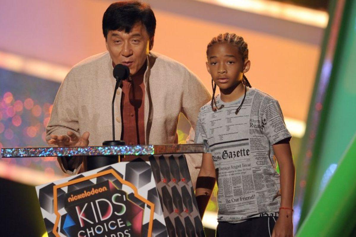 Jackie Chan y Jaden Smith Foto:Getty Images. Imagen Por: