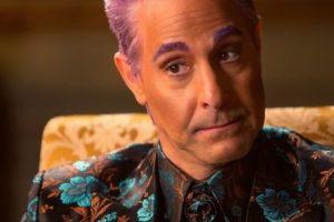 El estadounidense Stanley Tucci encarna a Caesar Flickerman. Foto:Lionsgate. Imagen Por:
