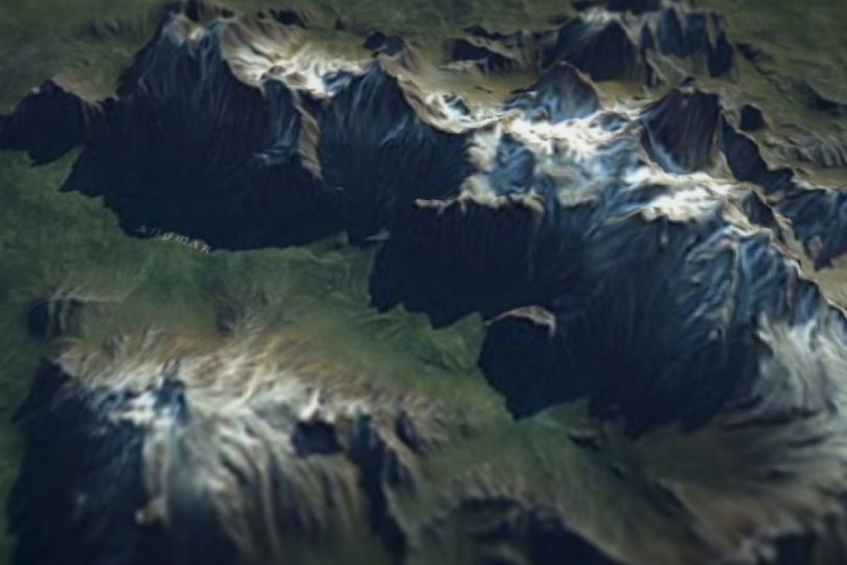 De esta forma exploran el mapa de Tierra Media. Foto:thehobbit.com. Imagen Por: