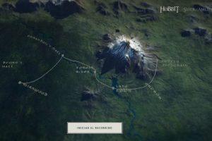 La trayectoria de Légolas. Foto:thehobbit.com. Imagen Por: