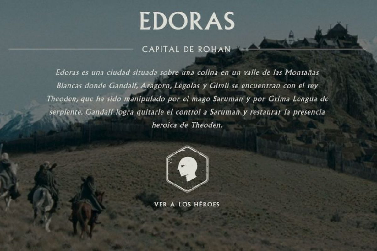 Edoras, otro de los puntos que se pueden explorar. Foto:thehobbit.com thehobbit.com. Imagen Por: