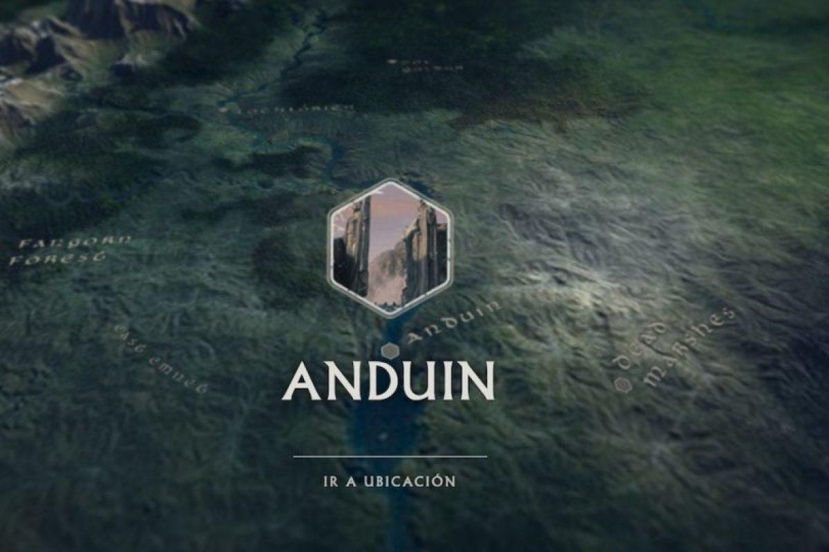 Anduin, uno de los puntos que se pueden ver en Tierra Media. Foto:thehobbit.com. Imagen Por: