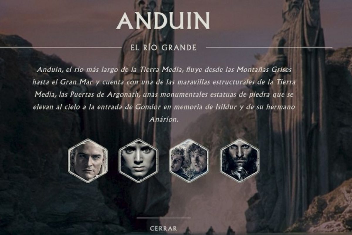Los héroes de Anduin. Foto:thehobbit.com. Imagen Por: