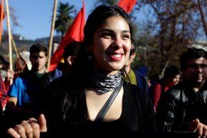Karol Cariola (PC) Foto:Agencia Uno. Imagen Por: