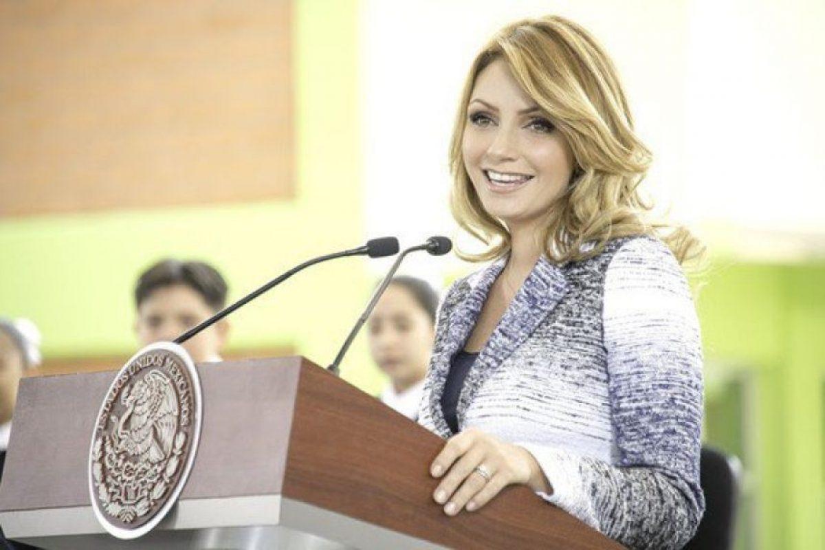 Angélica Rivera, esposa del Presidente Enrique Peña Nieto Foto:AngelicaRivera.com. Imagen Por: