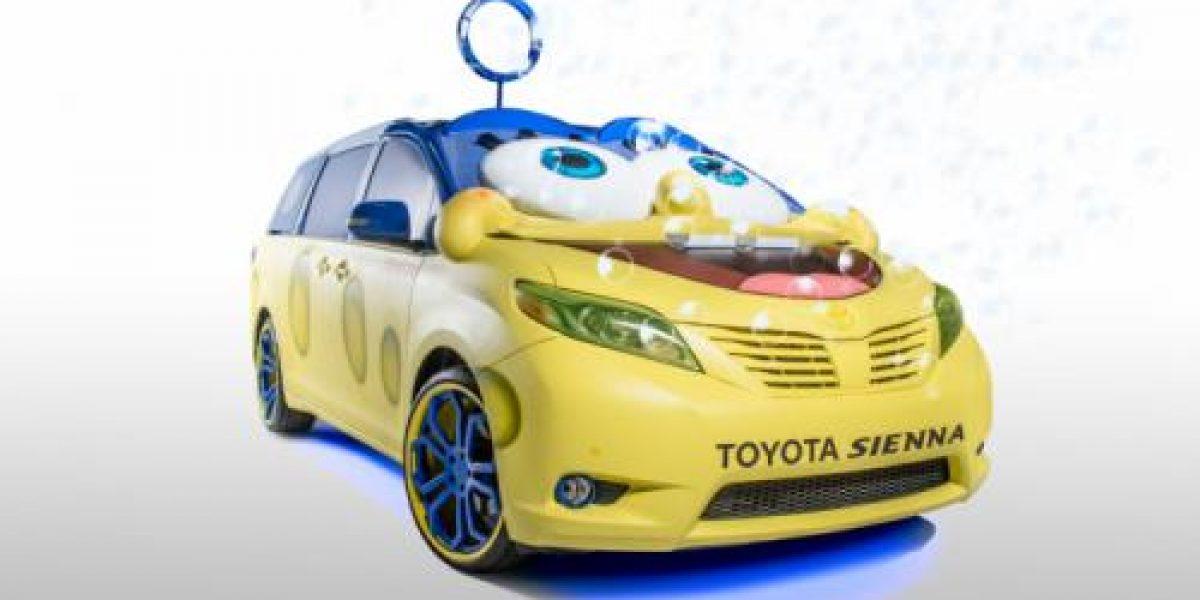 IMÁGENES:Conoce al Toyota de Bob Esponja